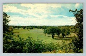 Manitoba- Canada, Brandon, Golf Course, Pastural Scenery,  Chrome Postcard