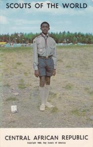 Scouts of the World, CENTRAL AFRICAN REPUBLIC, Africa, 40-60´s