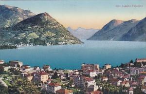 Switzerland Lugano Panorama