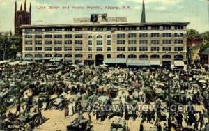 Lyon Block & Public Market Albany NY 1911
