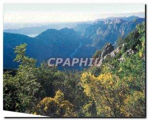 Modern Postcard The Verdon Gorge Alpe de Haute Provence Var