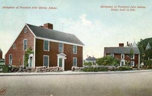 MA - Birthplace of John Quincy Adams and John Adams
