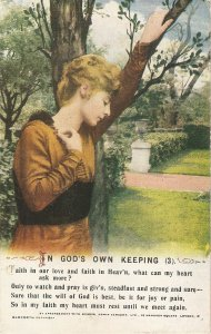 Lady. In God's own keeping  Old vintage Ba,mforth Songs  Ser PC # 5008/3