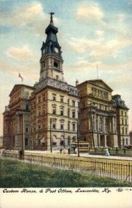Custom House and Post Office Louisville KY unused