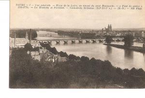 Postal 027011 : Tours, Rives de la Loire, Cathedrale St-Galien (XII-XV)