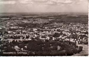 Delmenhorst - B&W Aerial View 1957