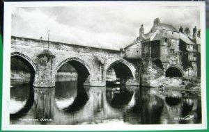 England Elvet Bridge Durham RPPC - unposted
