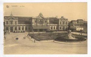 Leuven/Louvain, Belgium, 00-10s   La gare