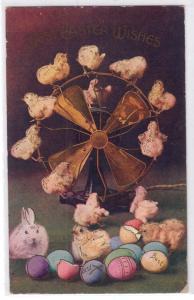 Easter - Chicks on a Fan