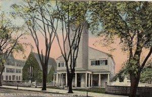 NEWBURYPORT , Massachusetts , 1916 ; St Paul's Church