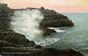 ME - Ogunquit. Spouting Rock