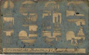 CPA Macon Souvenir FRANCE (953022)