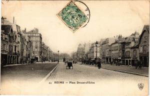 CPA Reims - Place Drouet d'Erlon (277072)