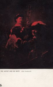 The Artist and his Wife , 00-10s ; Rembrandt ; TUCK 913