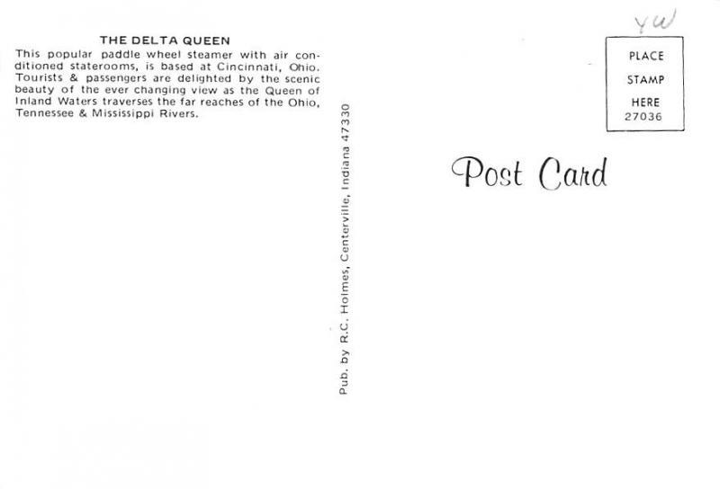 Cincinnati, Ohio - Delta Queen