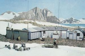 Commonwealth Institute Graham Land Camp In Summer Antarctica Postcard