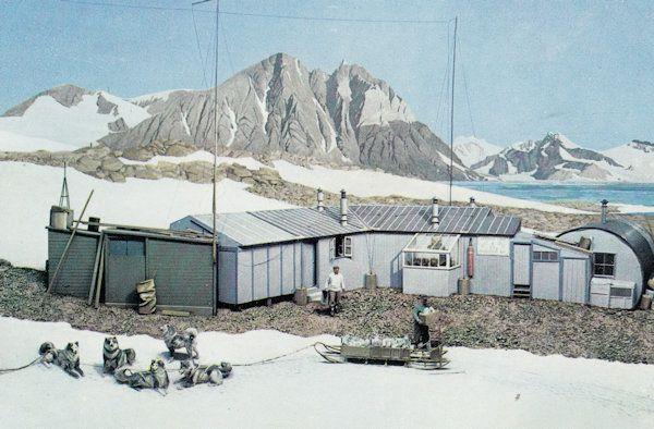 Commonwealth Institute Graham Land Camp In Summer Antarctica Postcard