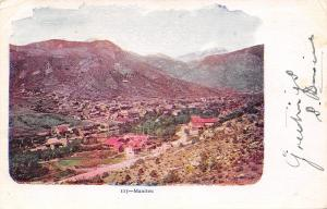Manitou Colorado~Embossed Mountain View of the Whole Town~1905