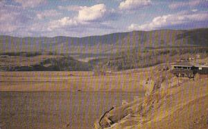 B.C. Hydro's Portage Mountain Damsite,  on the Peace River near Hudson Hope, ...