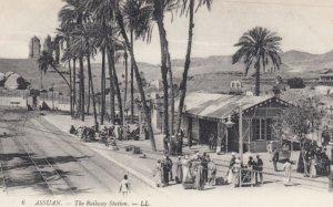 ASSUAN , Egypt , 1900-10s ; Railway Station