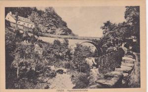 TRIER, Napoleonsbrucke, Rhineland-Palatinate, Germany, 10-20s