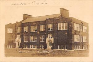 Flandreau South Dakota High School Real Photo Antique Postcard K55846