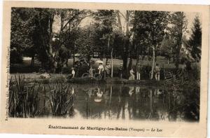 CPA  Établissement de Martigny-les-Bains (Vosges) - Le Lac   (200537)