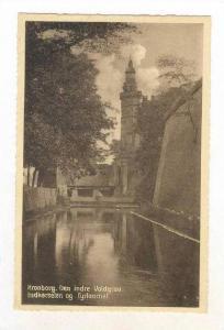 Den Indre Voldgrav, Indkørselen og Eyrtaarnet, Kronborg, Denmark, 1900-10s