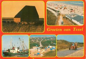 Holland, Netherlands, Groeten van Texel, 1985 used Postcard