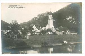 RP, Partie An Der Ammer, Oberammergau (Bavaria), Germany, 1920-1940s