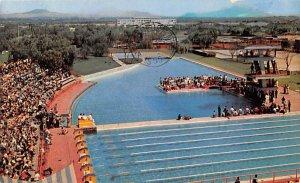 Swimming Pool Water Sports 1955