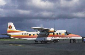 Donier 228-2-2, F-OGOF c.n 8143 of Air Guadeloupe at Pointe-a-Pitre, 1960s