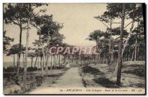 Old Postcard Arcachon Road cornice