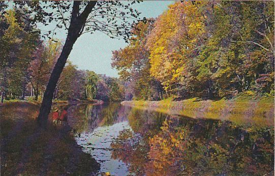 Autumn Along The Delaware Canal Bucks County Pennsylvania