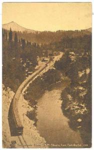 Sacramento River & Mt. Shasta, from Castella, California, 10-20s