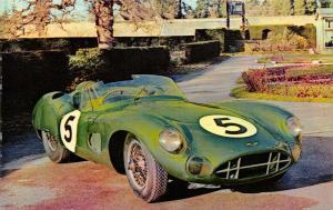 Postcard, Vintage Car 1956 Aston Martin DBR1/300, Montagu Motor Museum 73S