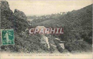 Postcard Old Noireau Vallee du Mont Cerisi Rocks and St. Peter