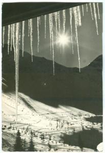 Czech republic, NOVOROCNY POZDRAV, 1966 used real photo Postcard