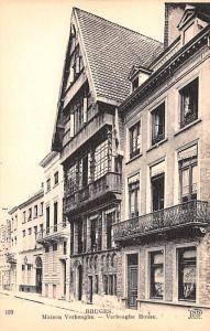 Bruges Belgium, Belgique, Belgie, Belgien Maison Verbeaghe, Verbeaghe House B...