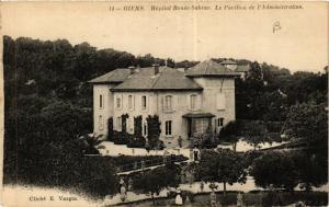CPA  Giens - Hopital Renée-Sabran - Le Pavillon de l'Administration  (635047)