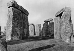 Stonehenge, Interior of Circle looking North, Ministry of Works. Great Britain