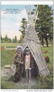 Heap Big Indians Waiting To Greet You Menominee Indian Reservation Wisconsin