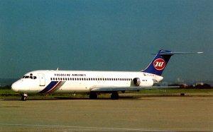 JAT Yugoslav Airlines McDonnell Douglas DC-9-32 At Orly Airport Paris