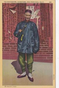 California San Francisco Chinatown The Soothsayer 1945