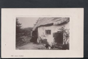 Rural Occupations Postcard - The Old Forge    T7307