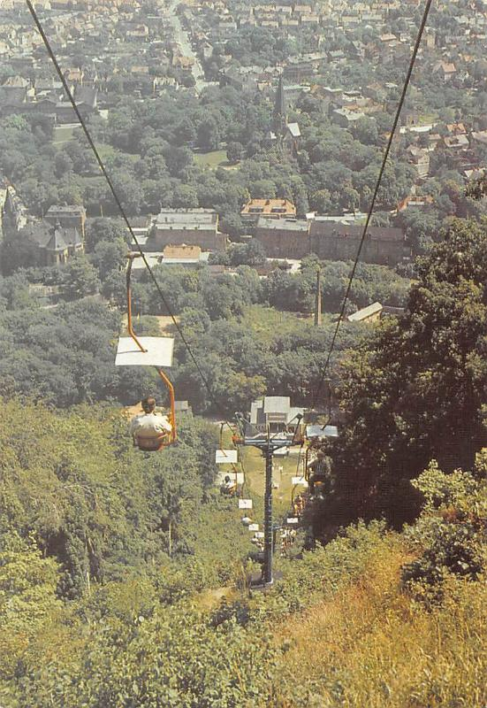 Thale Harz (Kr. Quedlinburg) Sessellift Cable Car Panorama
