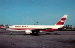 TWA Trans World Airlines Boeing B-767-205ER Phoenix Sky Harbor International ...