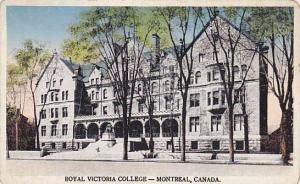 Royal Victoria College, Montreal (Quebec), Canada, 1910-1920s
