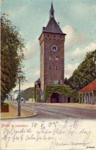 ST. JOHANNTHOR BASEL SWITZERLAND 1905