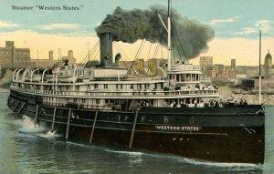 Detroit & Buffalo (D&B) Line - Steamer Western States